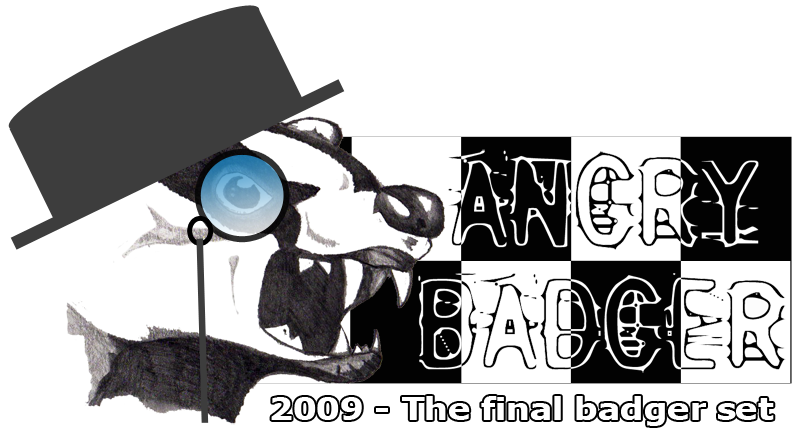 A history of Angry Badger – 2009