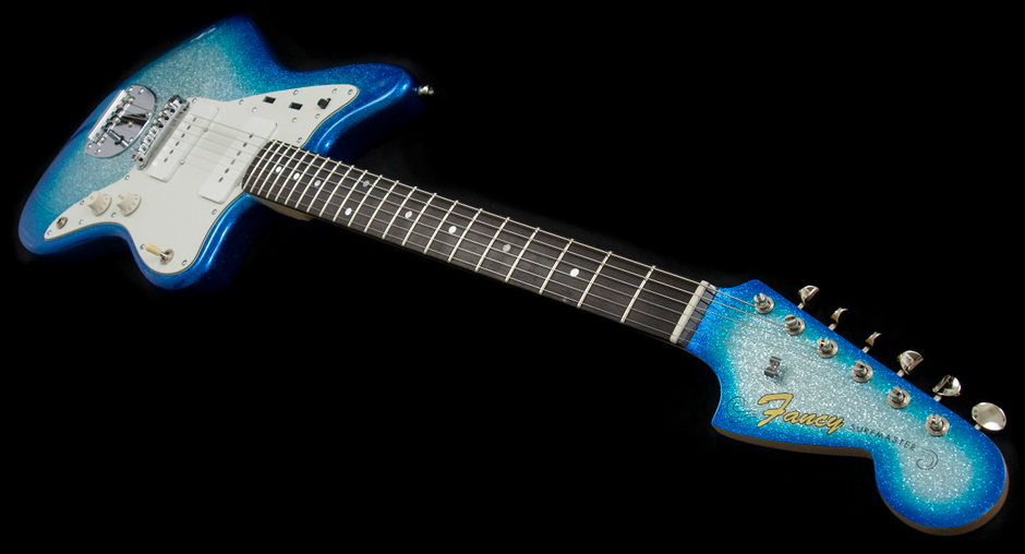 'Fancy' Surfmaster – JM partscaster build in Surfburst